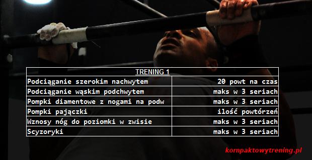 plan treningowy 1