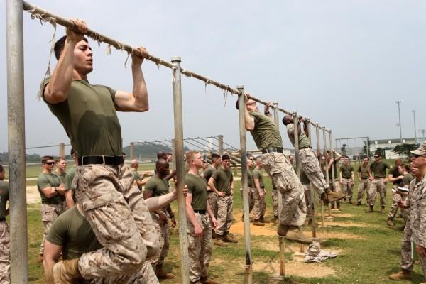 Podciąganie na drążku wyznacznikiem formy żołnierza