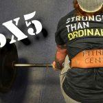 Metoda treningowa 5×5 – rób to dobrze